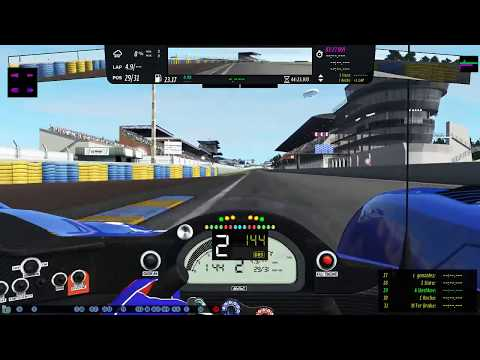 12 hours of Le Mans (rfactor2)
