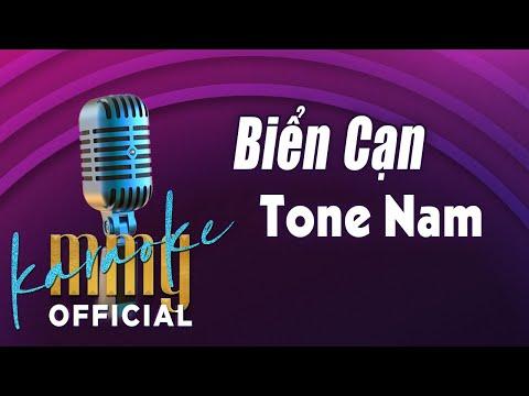 Biển Cạn (Karaoke Tone Nam) | Hát với MMG Band