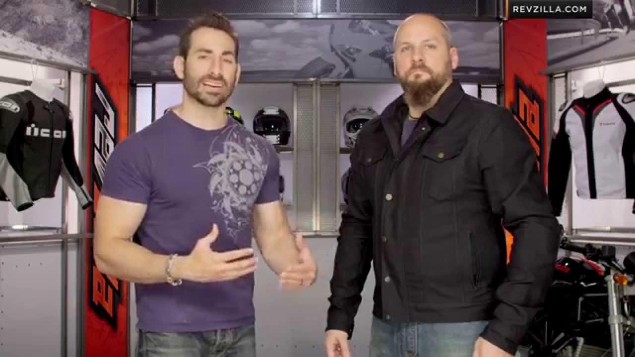 Rokker Black Jacket Review at RevZilla.com - YouTube