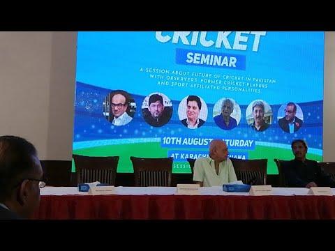 Cricket Seminar