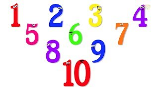 Numbers Song | Ten Little Numbers
