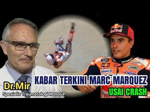 Kabar terkini Marc Marquez pasca alami Highside di sirkuit jerez