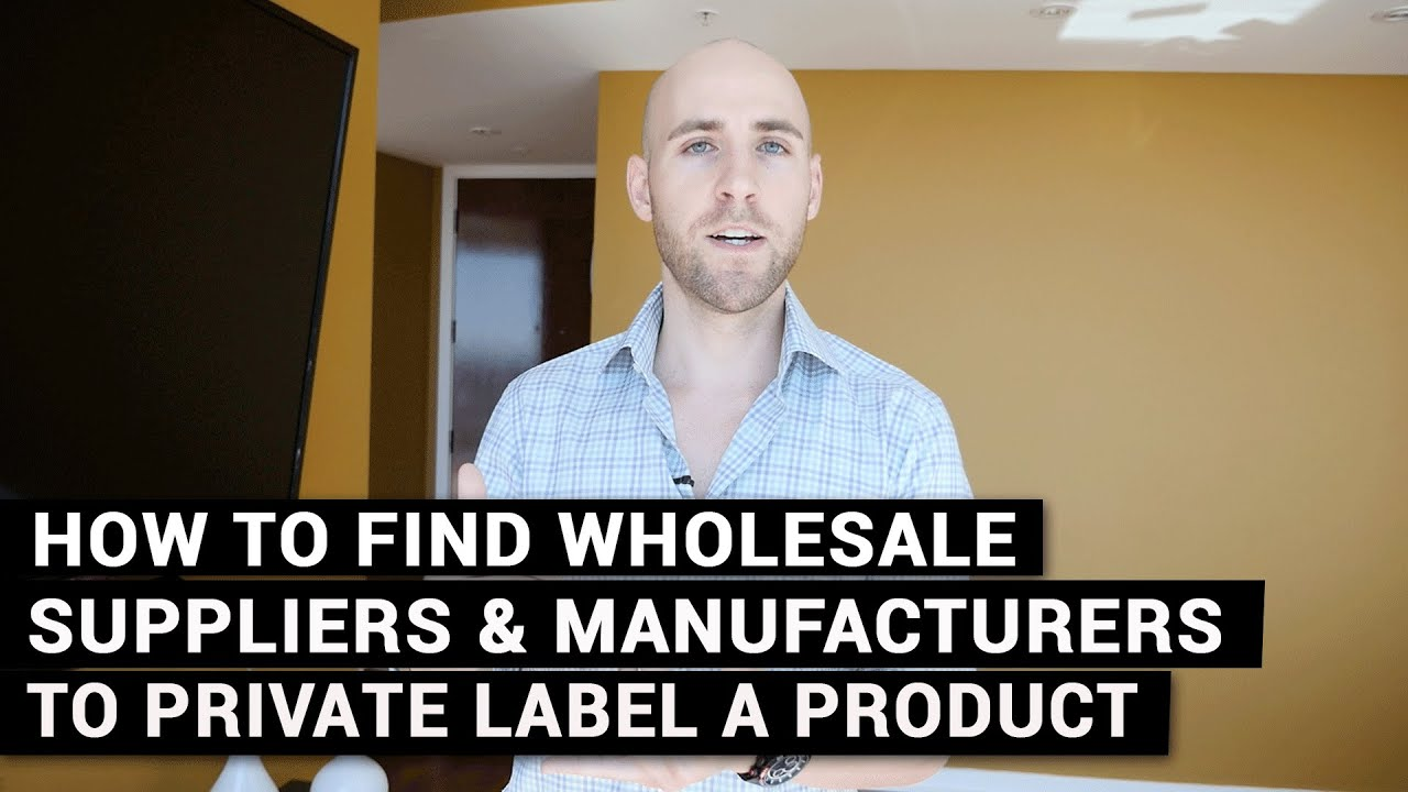 How To Find Suppliers To Private Label A Product & Sell On