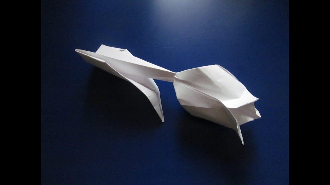 63Видео урок оригами цветок