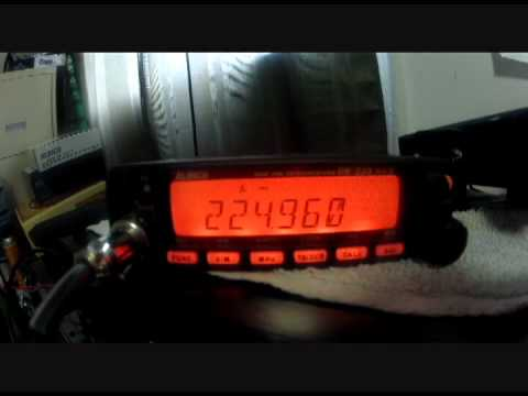 Alinco DR235T MKIII Video Review 220 MHZ by AA1PR