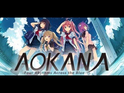 Aokana - Four Rhythms Across the Blue The first 30 minutes of gameplay