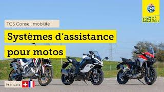 Test des systèmes d'aide à la conduite moto (2021)|ABS virages, assistant d'angle mort, ACC...