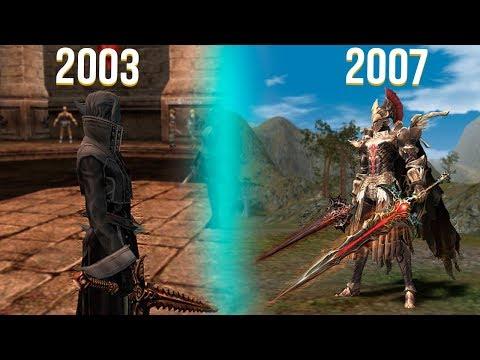 История развития Lineage 2 ( 2003 - 2007 )
