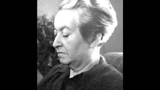 Gabriela Mistral. La Espera Inútil. (Desolación 1922).