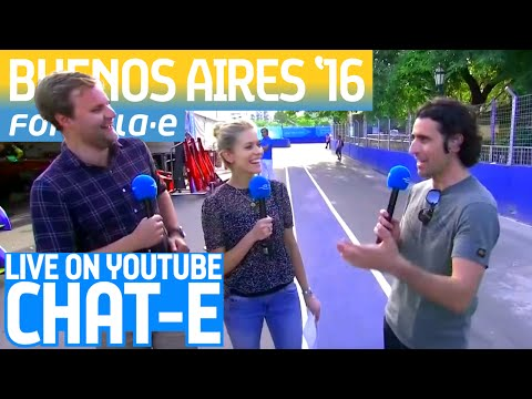 Chat-E Fan Show LIVE From Buenos Aires! - Formula E