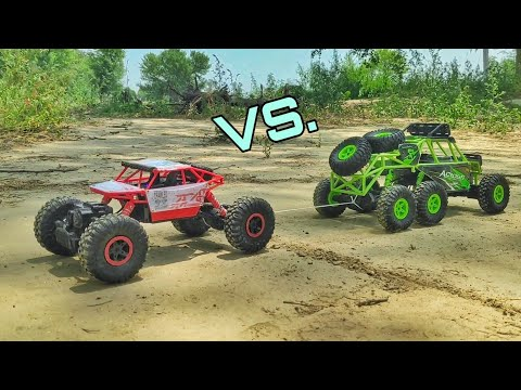 HB Rock Crawler VS WLToys 18628 - Rock Crawlers Comparison
