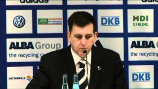 Pressekonferenz: Finale 2 ALBA - Bamberg (8.6.2011)