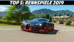Meine Top 5 Rennspiele 2019 | PC, PS4 & Xbox ONE