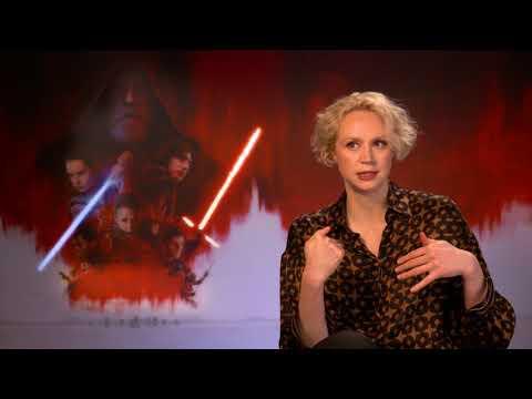 STAR WARS - THE LAST JEDI Interview Gwendoline Christie CAPTAIN PHASMA - GAME OF THRONES