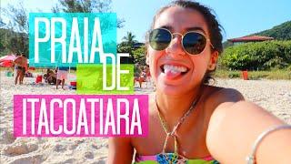 Praia de Itacoatiara - Niterói | Pelo Rio Blog