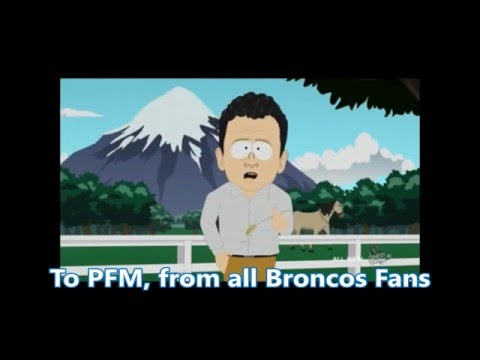 To Peyton Manning, From All Broncos Fans