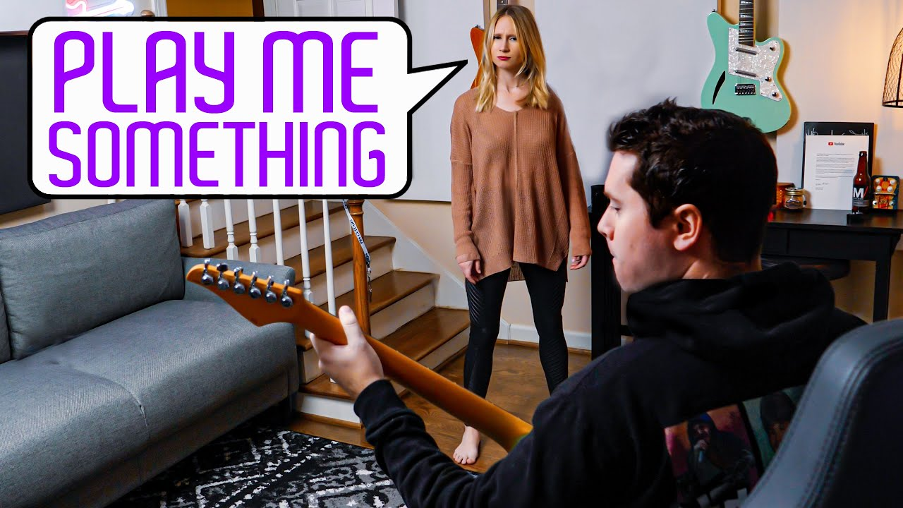 What Every Guitarist Plays When They're Asked to Play Something