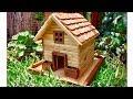 Construyendo una bella Casa de Madera para Pájaros