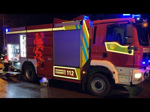 Verheerender Wohnungsbrand Chemnitz Zentrum