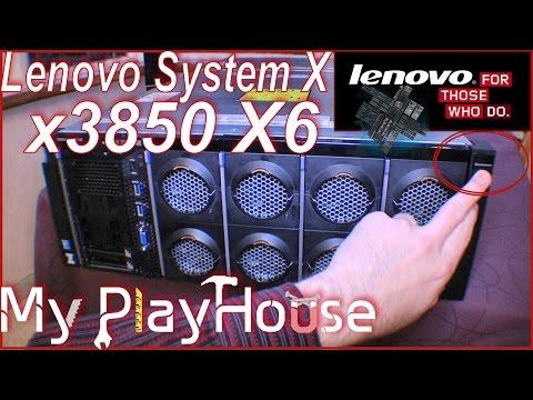 Review, Lenovo System x3850 X6 and walk-through - 260