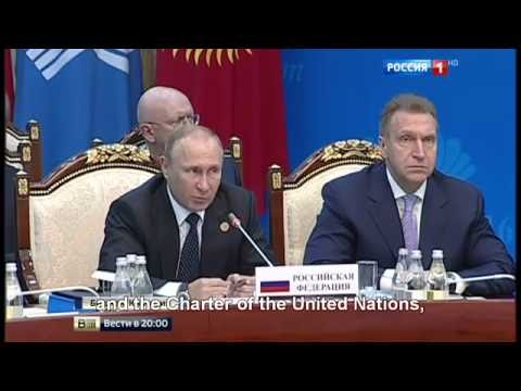 Russian president Putin clashes with the Ukrainian ambassador: Russia never annexed Crimea