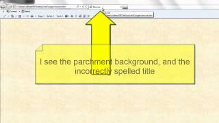 Creating an HTML Résumé