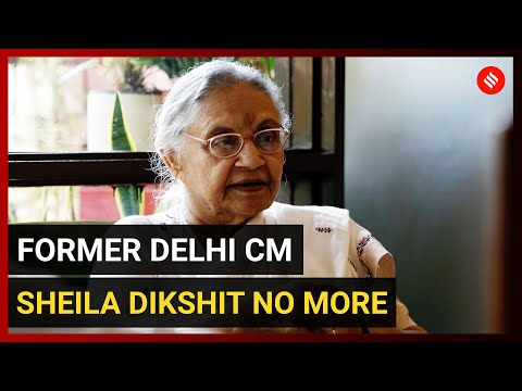 Former Delhi chief minister Sheila Dikshit passes away LIVE Updates: Cremation to take place at 2.30 pm tomorrow
