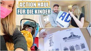 XXL ACTION HAUL 💙 Probleme beim Einschlafen & Kinderarzt Besuch | Isabeau