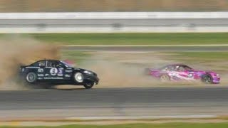 Lone Star Drift Round 7 - jumping drift cars at 90 mph LOL!