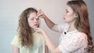Как правильно красить брови в домашних условиях(Купить хну и средства для бровей из видео можно тут: http://telezhnikova.ru/san/brow-cosmetics/21/ Видео инструкция как правиль..., 2016-08-02T11:37:06.000Z)