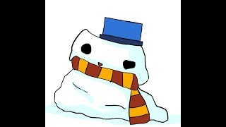 [LIVE] 噂のVカツと格闘する雪だるま
