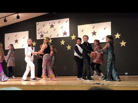 Miley's 5th Grade Disco Dance Performance
