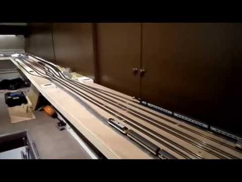 N Gauge Loft Layout - Auto Reversing Testing April 2014 streaming vf