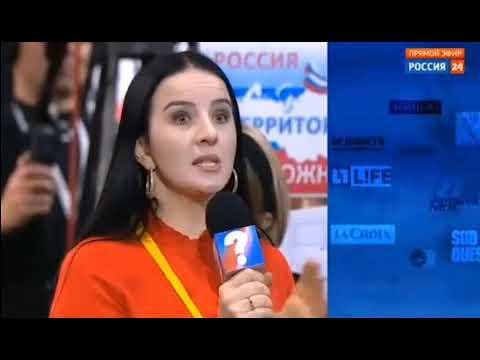 Дагестанка требует убрать русских детей из русского ТВ!