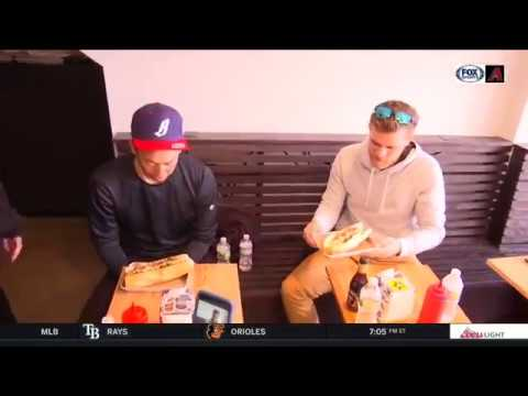 Arizona Diamondbacks Yoshihisa Hirano & Matt Koch / Philadelphia Cheesesteak Tour
