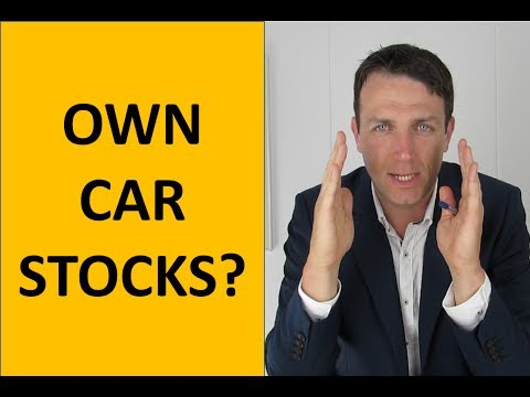 Car industry - Tesla, Ford - when to invest?