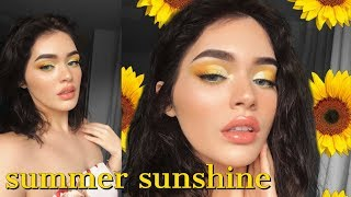 🌻☀️Summer Sunshine | A Yellow Tutorial ☀️🌻