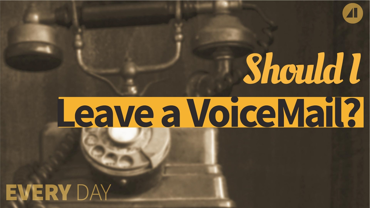 Leave A Voicemail Message Episode 37 Youtube