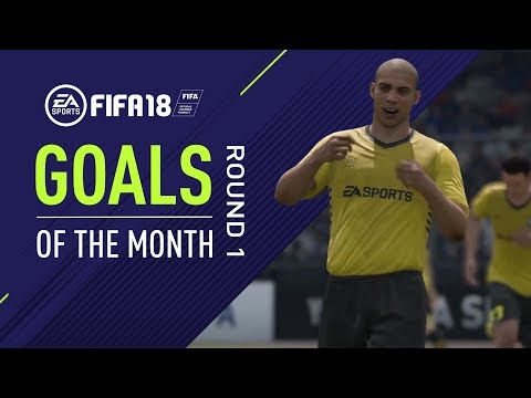 FIFA 18 | Goals of the Month | Round 1