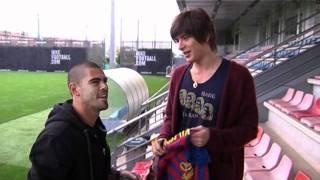 城田優、FCバルセロナ名誉ファン Yu Shirota FC Barcelona honorary fan.