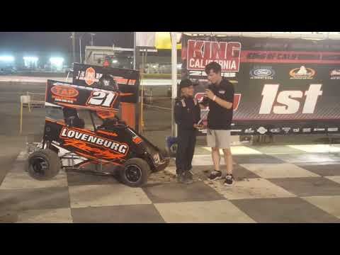 Lemoore Raceway King Of California 9 8 18 Jr Sprint Cash Interview