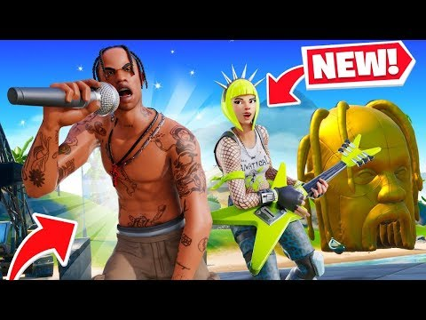 FORTNITE TRAVIS SCOTT EVENT NOW! CONCERT EVENT + FREE REWARDS! (Fortnite Live)