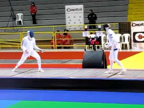 Epee Bogota Grand Prix 2009 - Final   Grumier vs Novosjolov  Part 3