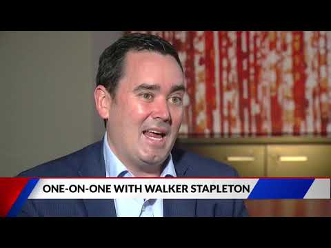 Serious interview with Republican Gubernatorial Candidate Walker Stapleton