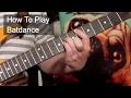 batdance Prince Guitar Lesson