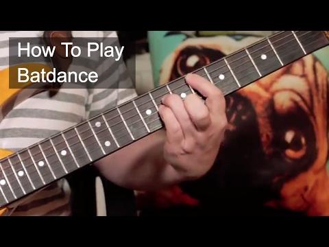'Batdance' Prince Guitar Lesson