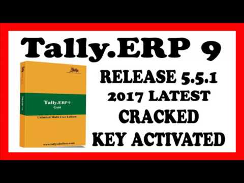 ► Tally ERP 9 Crack! 2017 Release 5.5.4 Serial Key Latest Patch & Activation Key Keygen Free