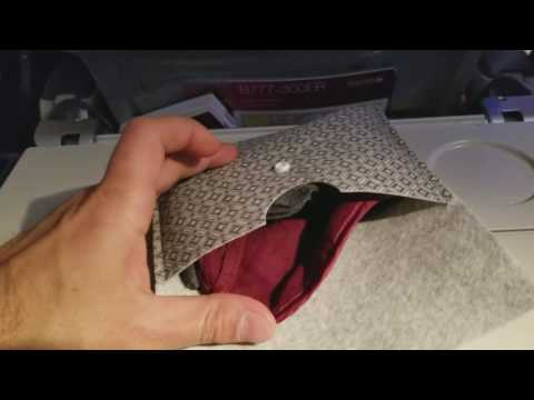Qatar Airways Vanity Bag