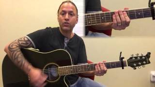 """How To Play """"Try"""" By Colbie Caillat - Easy Guitar Lesson"""