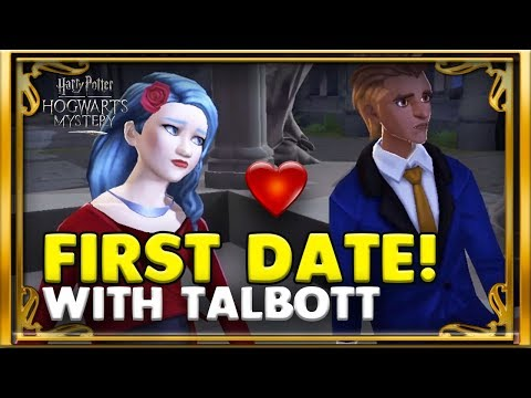 DATING QUEST WITH TALBOTT WINGER! - HARRY POTTER: HOGWARTS MYSTERY